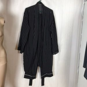 Valerie Stevens Pajama Pants & Robe Size L